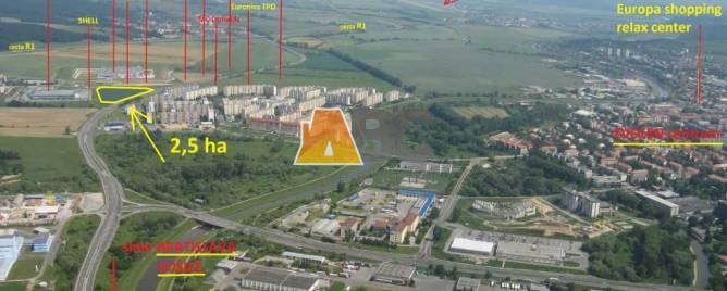 Zvolen Land plots - commercial Sale reality Zvolen