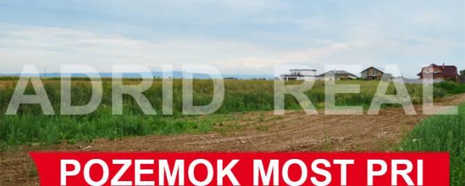 Most pri Bratislave Land plots - commercial Sale reality Senec