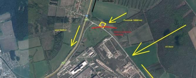 Košice - mestská časť Šaca Land plots - commercial Sale reality Košice - Šaca