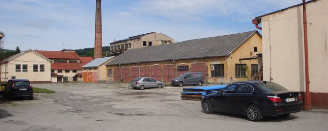 Púchov Storehouses and Workshops Rent reality Púchov
