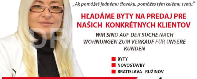 Bratislava - Ružinov One bedroom apartment Buy reality Bratislava - Ružinov