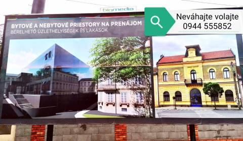Offices, Centrum, Rent, Levice, Slovakia