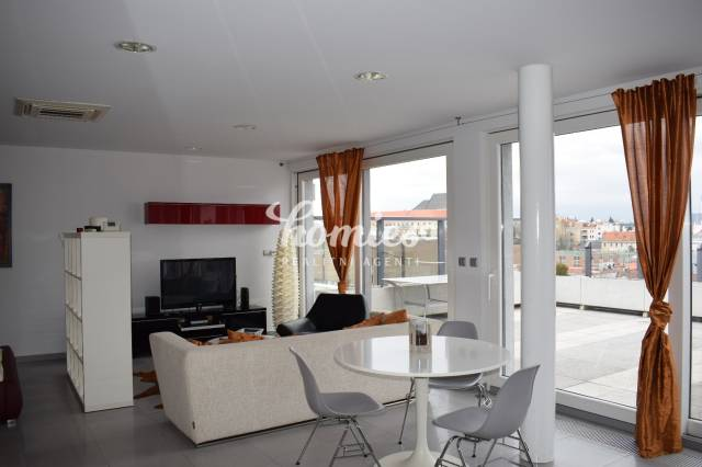 Penthouse - luxury apartment for rent, center of Nitra