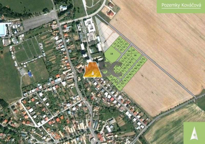 Land – for living, Sale, Zvolen, Slovakia